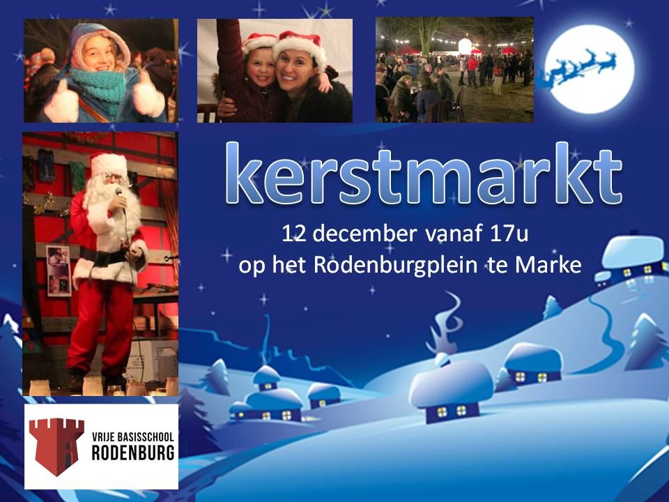 affiche kerstmarkt